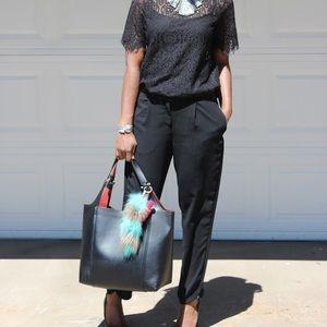 Zara Metallic Detail  Bag